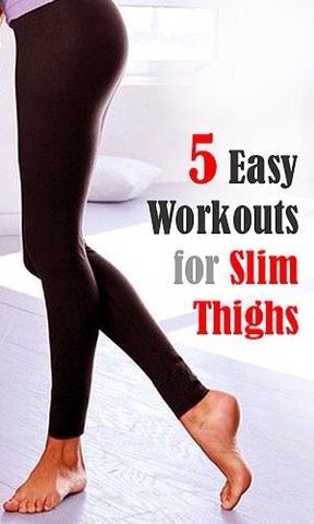5 Easy Workout For Slim Thighs 👍🏻💪🏻💯