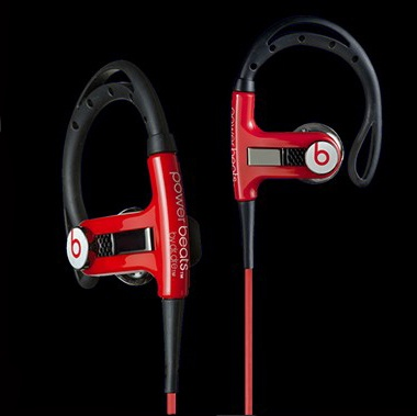 Monster Power Beats By Dr.Dre LeBron James In-Ear Sports Headphones Red