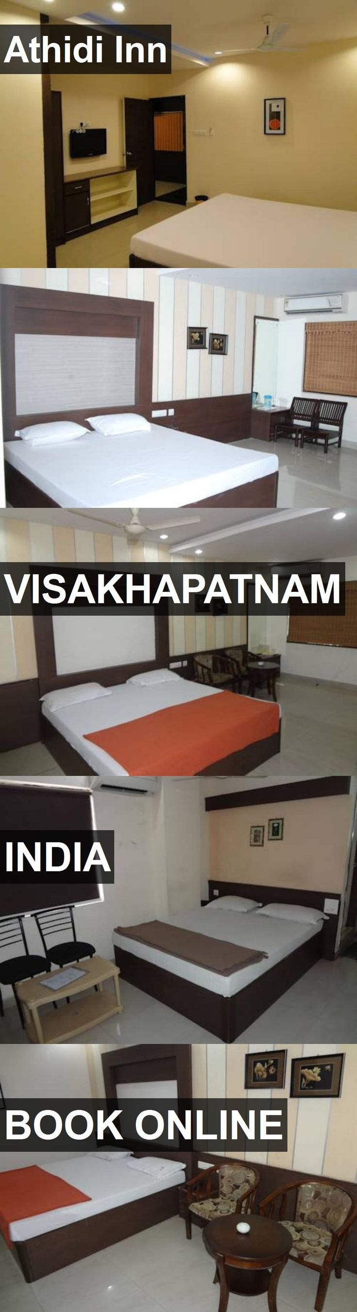 Hotel Athidi Inn in Visakhapatnam, India. For more information, photos, reviews and best prices please follow the link. #India #Visakhapatnam #travel #vacation #hotel