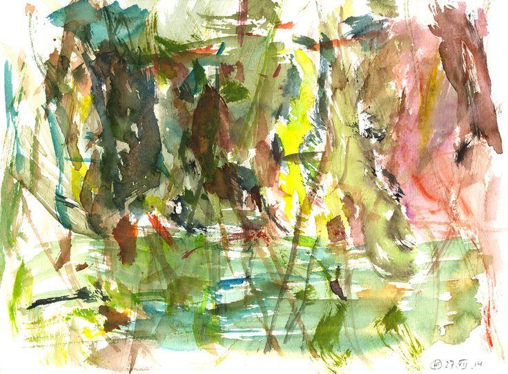 Potsdam (Berlin) Watercolour on paper   23x31 cm   2014   OCH-A-14-