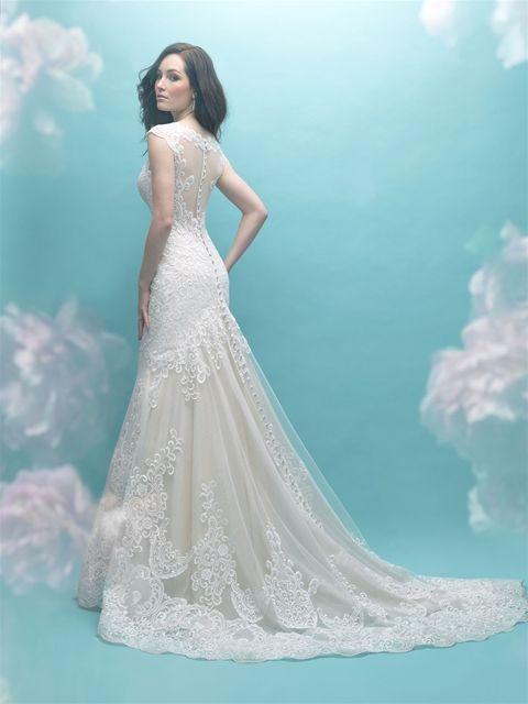 72 best Illusion & Sleeves images on Pinterest | Wedding frocks ...