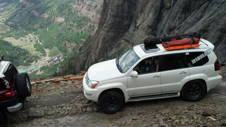 Black Bear Pass CO #ih8mud #offroad #wheeling #Lexus #gx470