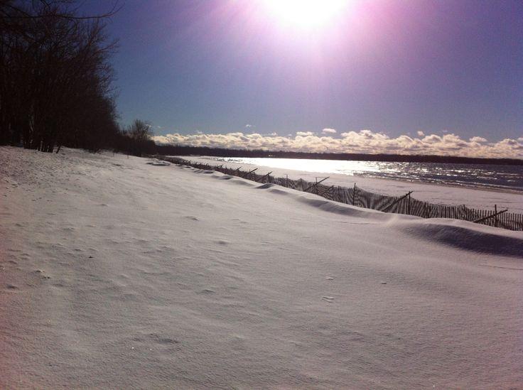 Winter at Sandbanks Provincial Park