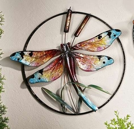 Dragonfly Metal Wall Decor