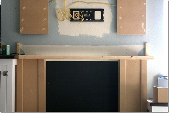 13 Best Images About How To Hide Components On Fireplace