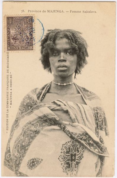 The African Diaspora in the Indian Ocean World  Sakalava Woman in Madagascar