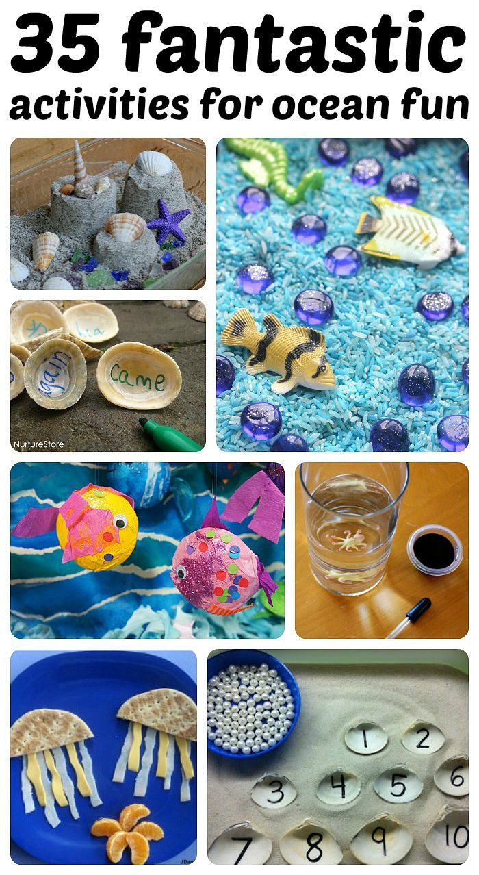 awesome collection of ocean-themed activities!
