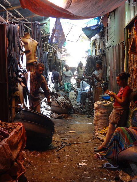 Market Alleyway - Bahir Dar - Ethiopia