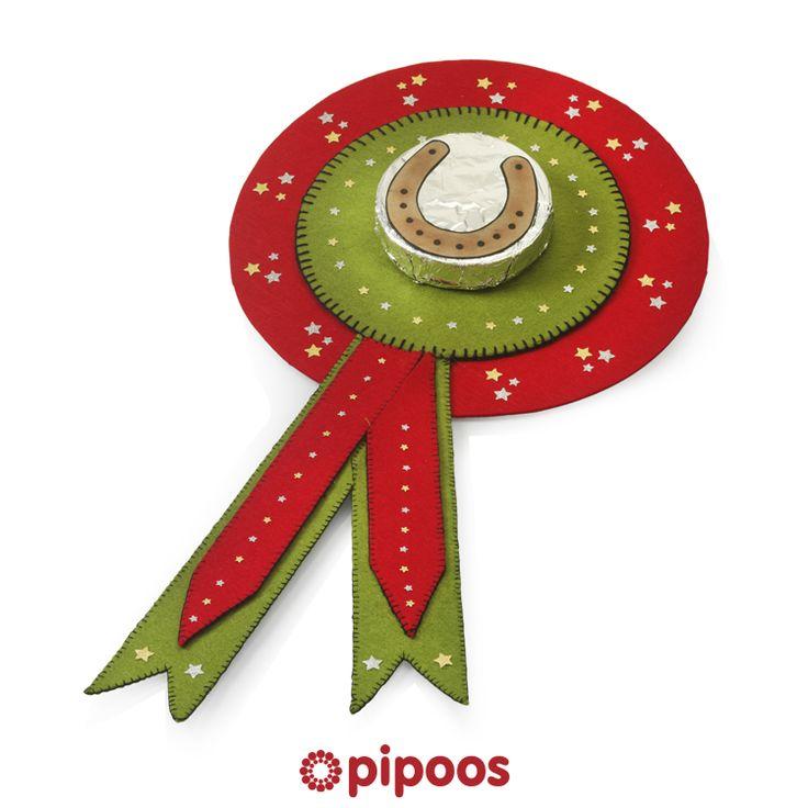 Sinterklaas surprise voor 5 december. Maak deze paardenmedaille voor een echt paardenmeisje.