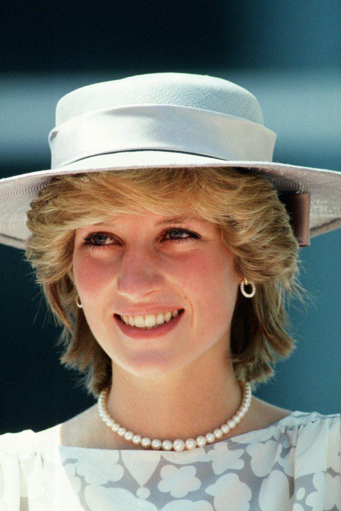 Princess Diana in pearls, 1983