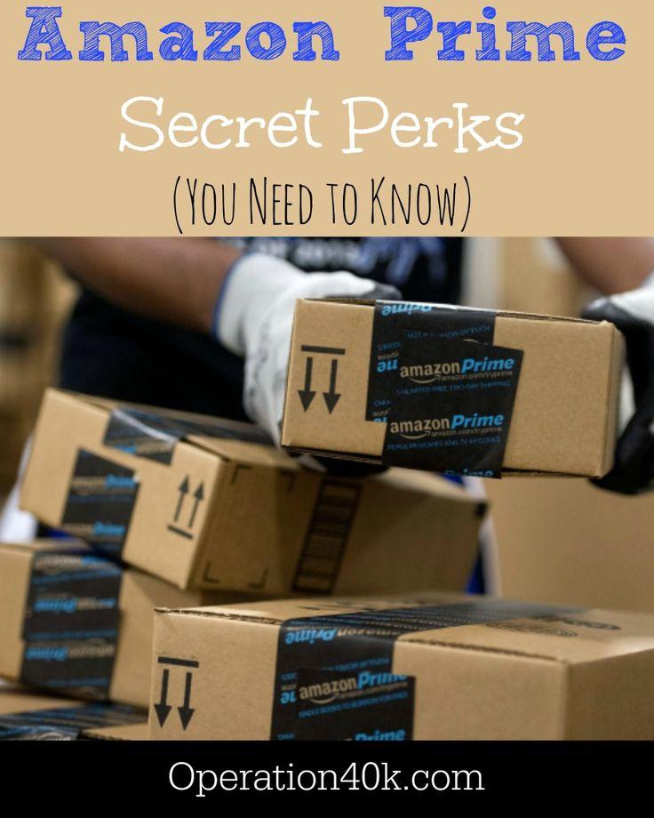 Amazon Prime Perks master list!!