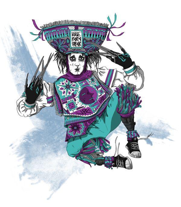 El joven danzante manos de tijeras :) https://www.behance.net/gallery/10524395/Edward-el-joven-danzante-manos-de-tijeras