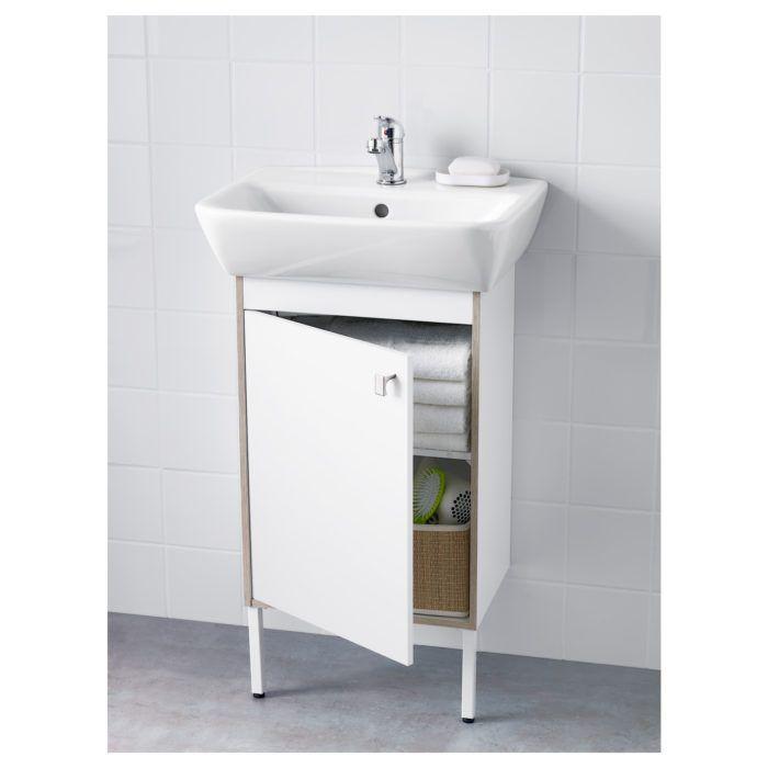 Muebles de lavabo pedestal IKEA   Muebles de lavabo, Lavabo