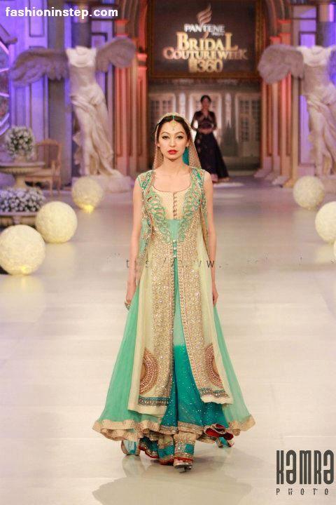Asifa & Nabeel Bridal Dresses at Pantene Bridal Couture Week 2012 e