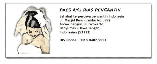 Paes Ayu Rias Pengantin Purwokerto