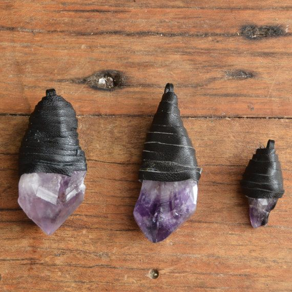 Amethyst Necklace healing crystals and stones Crystal