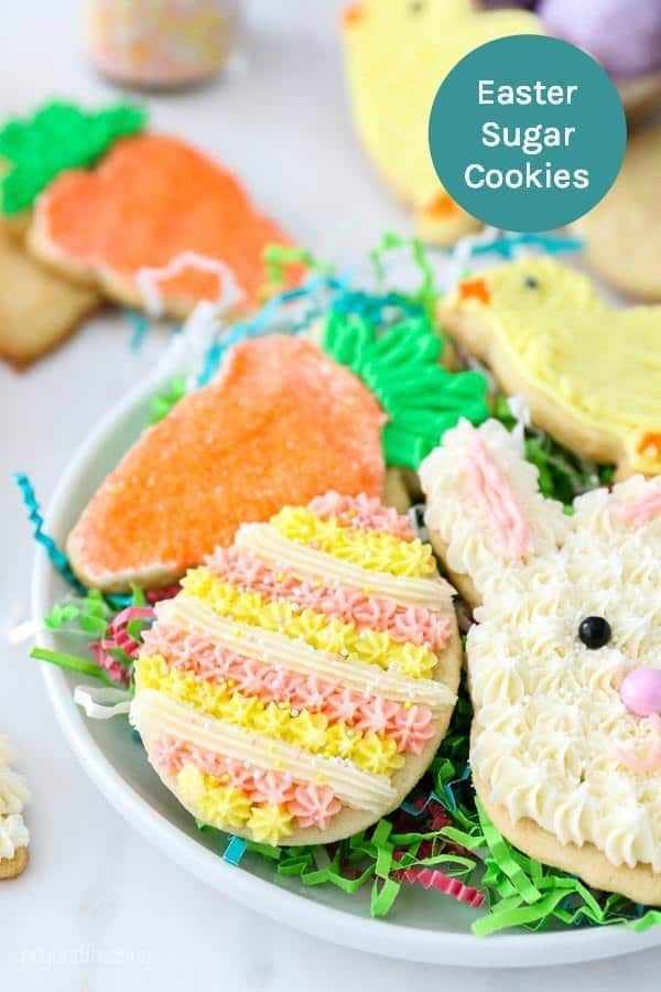 These Easter Sugar Cookies are an easy, roll-out sugar ...