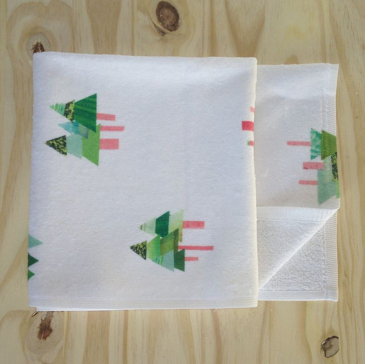 Tall Tall Trees Toddler Towel
