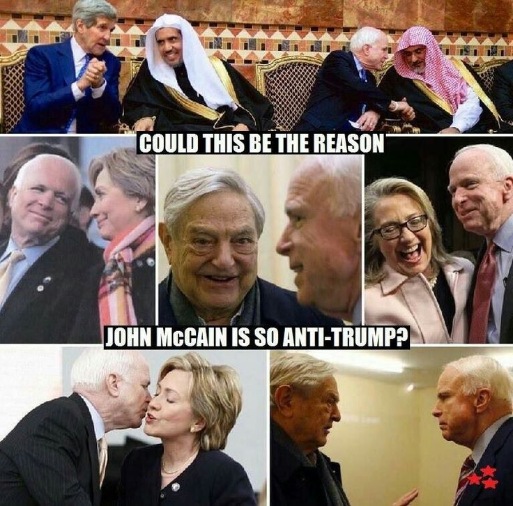 Pictures say it all can't be trusted lies and lies songbird McCain