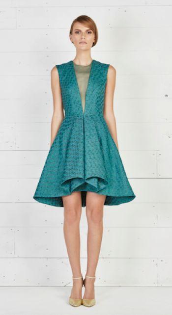 Turn heads in this polished look for that special evening out. #RTW #SS16   ألفتي الأنظار إليك الليلة مع هذا الفستان المصقول.