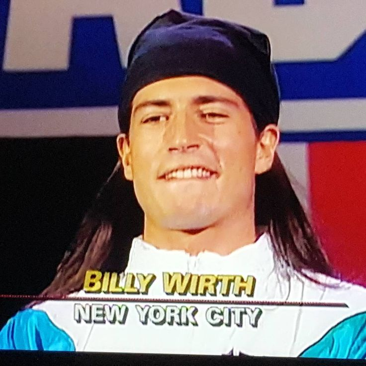 Wasn't expecting to see this face on an eposide of american gladiators #billywirth #thelostboys