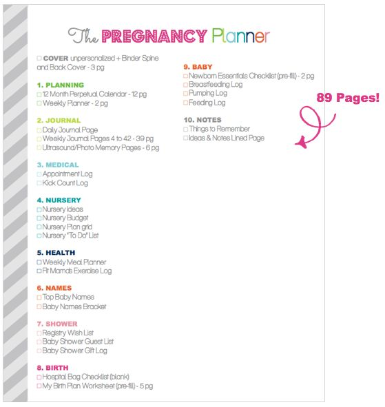 Clean Life and Home: The Ultimate Pregnancy Planner: Revised & Updated!