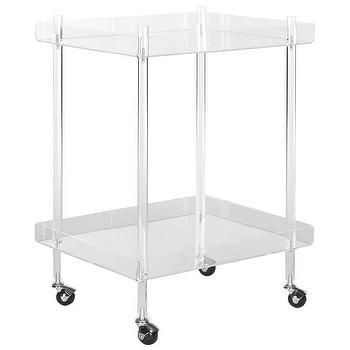 Safavieh Healy Clear Serving Cart