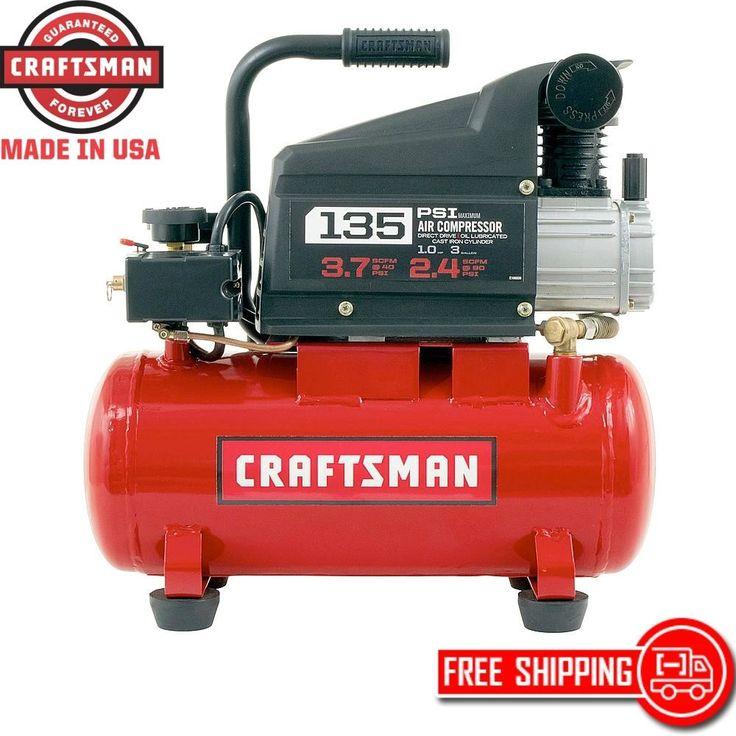 DIY  Tools 1 Hp Craftsman Air Compressor