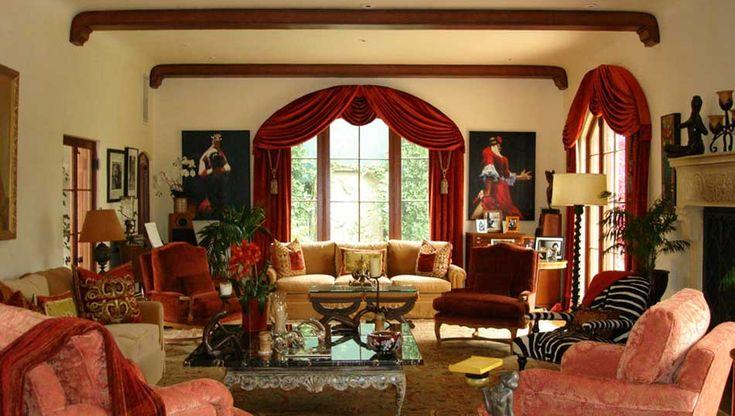 Tuscan Colors For Living Room Psardo Interiors Re Upholstery Custom Interior Design