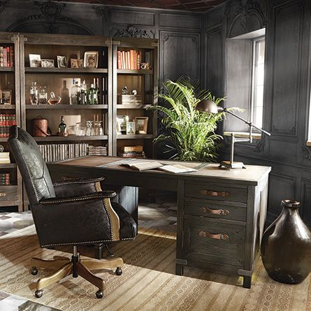 18 best masculine office images on pinterest | office ideas, home