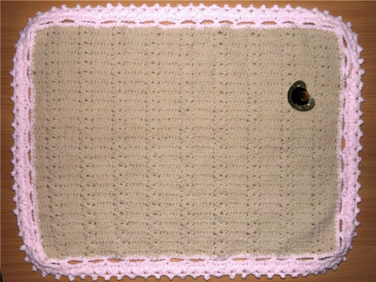 Tejido a crochet : Manta bebé