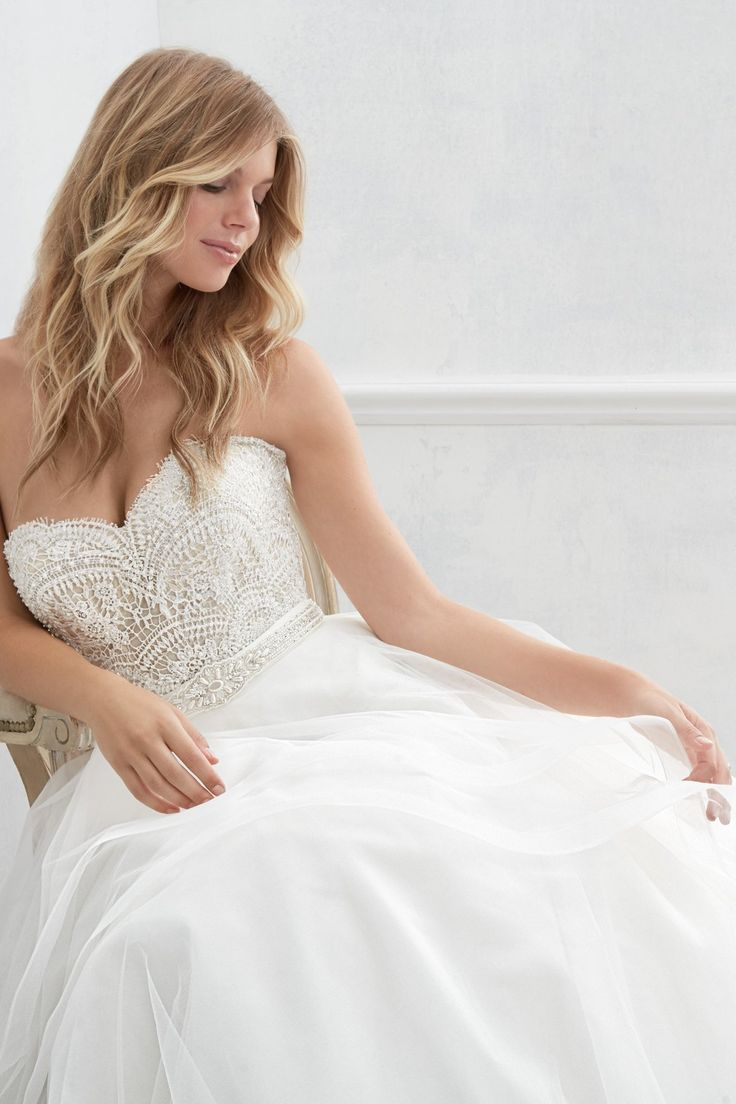 Bree corset with Almira Skirt from Wtoo by Watters is available at Sincerely, The Bride Vancouver, WA Portland Metro #sincerelythebride #oregonbride #nwbride