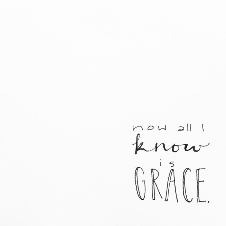 All I know is a newfound grace, all my days I'll know your face.