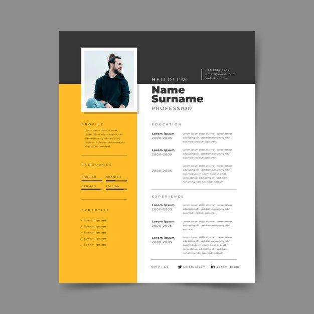 Template Cv Resume