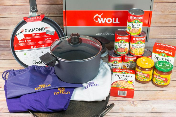 Perfect Potluck Grand Prize Giveaway | Contest runs until 10/11/15! Win amazing prizes from La Preferida, Azteca, and Woll!