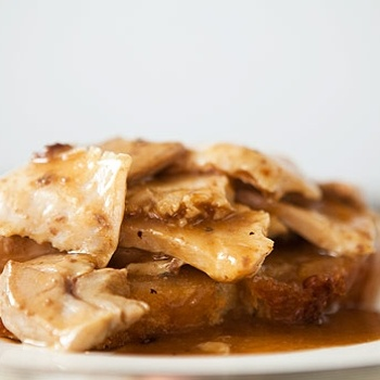 Image for Open Faced Turkey and Gravy Sandwich