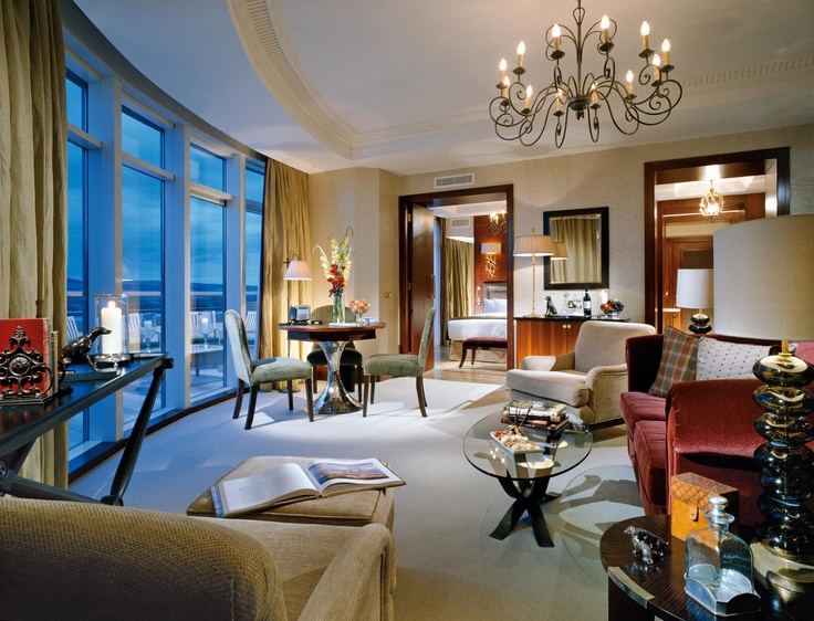 The fabulous interior of the Luxury Suite at Fota Island Resort
