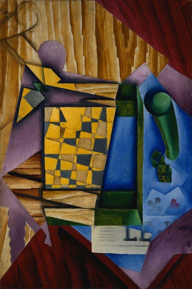 Juan Gris (1887-1927) - Backgammon