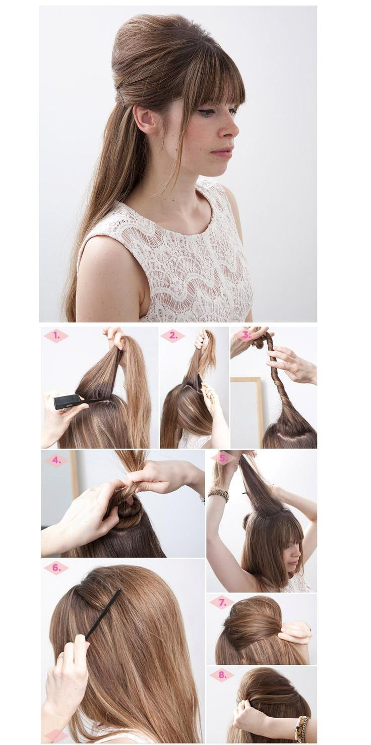 Top 10 Long Hair Tutorials For Night Out Easy Hairstyles Tutorials