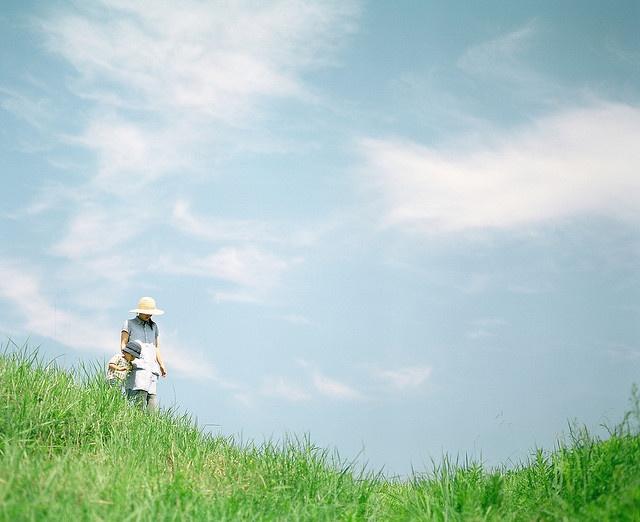 windy hill by Hideaki Hamada