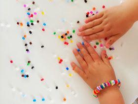 WIMKE : Gesmolten kraaltjes armband