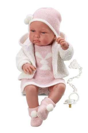 Llorens - новорожденная кукла девочка Tina, 43 см Киев - изображение 1