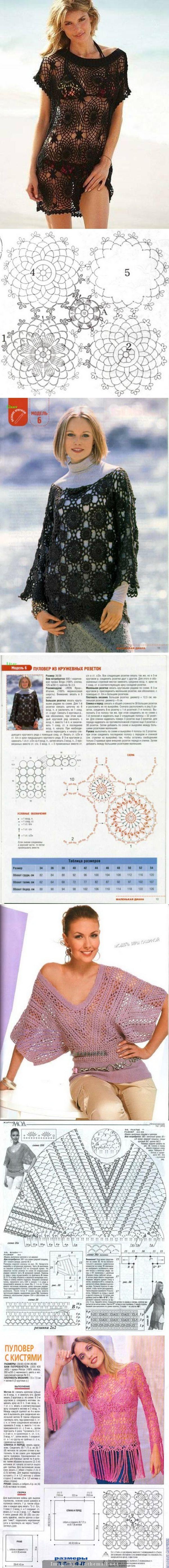 Crochet motif clothes…