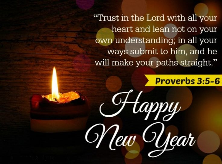 New Year Relegion Christian Quotes Wishes Image
