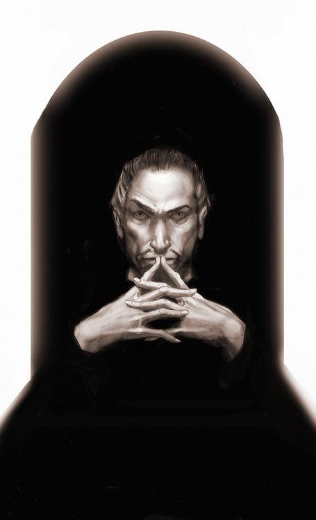Paul Kidby's Discworld art - Lord Vetinari.