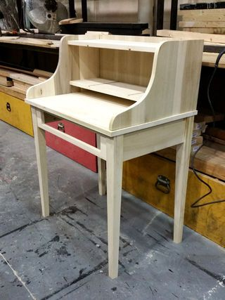 Recently, I took a woodworking class at my grad school where we had to design, draft, and build a piece of furniture. I went with a secretary desk because it A)...