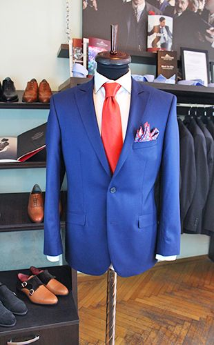 Costum Bleumarine