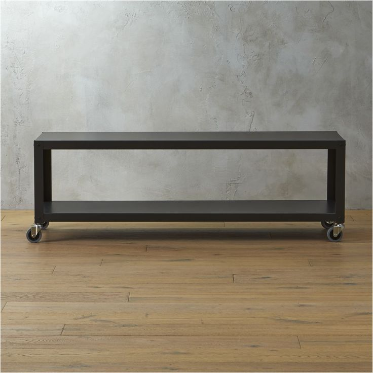 go-cart carbon rolling tv stand/coffee table
