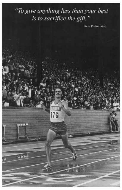 Steve Prefontaine Quote Poster 11x17