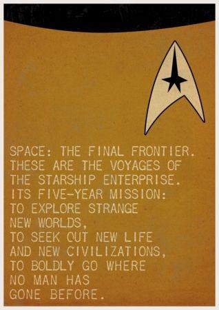 Spock and Captain Kirk (Star Trek)